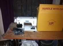 مكينة خياطة كهربائيه ومكنيكية