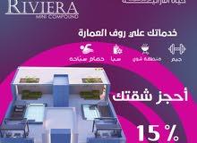 امتلك شقتك سوبر لوكس ب القاهرة الجديدة بخدماتك الخاصة علي الروف باقل سعر للمتر 7000ج (7)