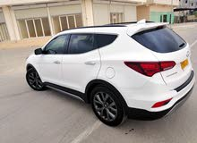 2018 Used Santa Fe with Automatic transmission is available for sale