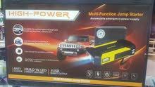 منفاخ سيارات متنقل  high-power,multi-function jump starter