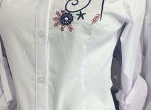قمصان نسائية  تركية لون ابيض موديلات جديدة