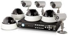 مهندس تركيب وصيانه كاميرات المراقبه ومد اللسلاك وظبط اعدادات الكانيرات علي الانترنت والجوال