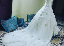 فستان تركي مستحضر ومفصل بطلب خاص للبيع