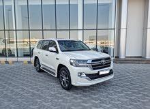 Toyota Land Cruiser GX-R 2020 (White)