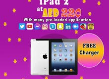 apple ipad 2 orignal used one month warranty