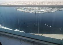 للايجار بعجمان استديو مفروش برج الواحه اطلاله ع البحيره2500للايجار الشهري شامل