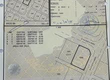 للبيع ارض سكنية كورنر في بوشر المسفاة