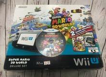 #جهاز نتيندو Wii U مع اكثر من 250 لعبه! #نادر