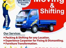 "Doha Carpenter "" house shifting moving "" transportation "" available"