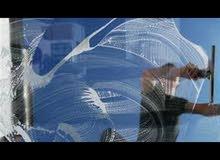 مؤسسه دلال النعثلي لتنظيف الزجاج والكلادنك وجلي الرخام وسراميك 0566419551 الها