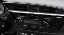 OEM stereo for Toyota Corolla 2014-2016 مسجل تويوتا كرولا الاصلي