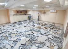 تكسير وترميمات وتنظيف مباني ورفع مخلفات البناء بالمدينه 0538779044