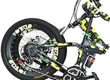 دراجه جديده 20 أنش تتصفط قويه جدا ماركه ANGIX الاصليه جير 7 سرعات + معاونات