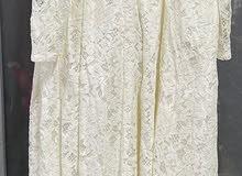 فستان مناسبات اوف وايت