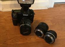 نيكون D850 47.7 ميجابكسل كاميرا اس ال ار رقمية ، مع عدسة / فلاش ، استوديو ضخم ، مع صندوق ماتي