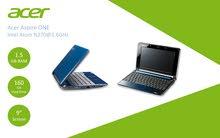 لابتوب ميني Acer Aspire ONE مستعمل فقط 250 شيكل