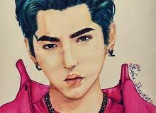 كيبوب رسمة كريس وو EXO للبيع