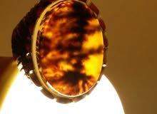 خاتم فضة مصور للبيع سوم