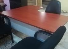 كرسي مكتب ثابت بس 10 دنانير