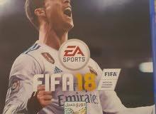 السلام عليكم عندي FIFA 18 عربي الله شاهد صارلي اسبوع من مشتريه واريد اراوس ويه ف