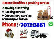 Moving/Shifting and Packeing :                           70123861