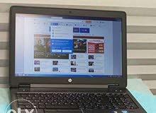 HP ZBOOK 15 G2 CORE I7 جيل رابع 4710 QM رمات 16 جيجا +فيجا10 جيجا