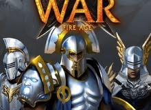 للبيع حساب game of war