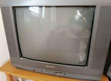 تلفزيون مستعمل نوع شارب بحاله جيده للبيع