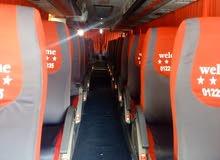 باص 50 راكب للايجار والرحلات بأقل الأسعار في مصر