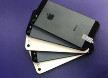 ايفون 5 ذاكره 16 جيبي مع جميع ملحقاته وضمان بسعر مميز