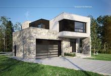 Dabouq neighborhood Amman city - 1200 sqm house for sale