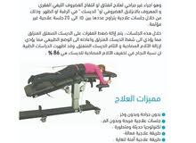 علاج الانزلاق الغضروفي ( الديسك ) بدون جراحة .