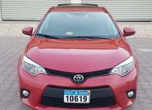 Toyota Corolla car for sale 2014 in Al Khaboura city