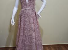 فستان سهرة جديد للبيع