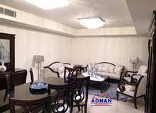 شقة مفروشه مميزه مع ترس و مدخل خاص في الرابيه