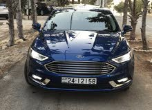 Blue Ford Fusion 2017 for sale