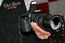 تنظيم حفلات الديجي والتصوير كادر مختص