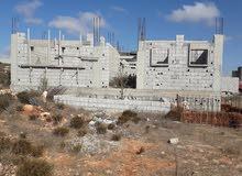 منزل عظم غير مسقوف للبيع بمنطقة عمبسة ( بين مدينة البيضاء وشحات )