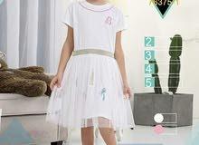 فستان اطفال قطن رووعة