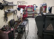 ورشة خراطة للبيع (صناعية الطيب)