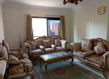شقة مفروشة للايجار بموقع متميز بالقرب من حديقه الطفل مكرم عبيد