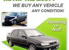 WE BUY YOUR TOTALLY SCRAP ACCIDENT WORKING NON WORKING CARS
