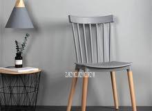 كرسي ارجل خشب