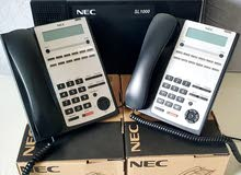 NEC SL1000 PBX SYSTEM WITH 2 BUSINESS PHONES
