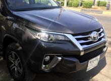 1 - 9,999 km mileage Toyota Fortuner for sale