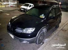 Black Mitsubishi Outlander 2006 for sale