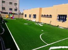 العشب الصناعي للملاعب والحدائق