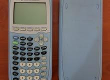 حاسبة علمية متقدمة نوع تكساس انسترومنت (Texas Instrument) (TI-84 plus)