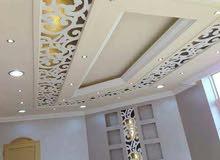 جميع انواع الديكور الداخلي والخارجي اسقف معلقه ديكورات خشب جبسن بورد قرميد