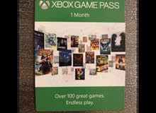 Xbox Game Pass 1 Month Code
